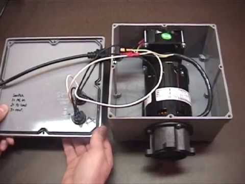 how to build a homebrewing march pump enclosure youtube rh youtube com Heil Heat Pump Wiring Diagram Diagram of Pool Pump Connections