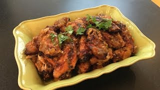 Spicy Mango Chutney Chicken Wings