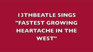FASTEST GROWING HEARTACHE IN THE WEST-RINGO STARR(COVER)