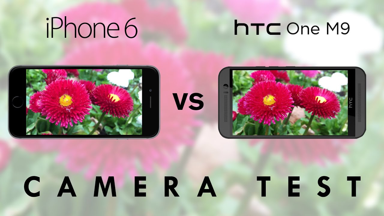 HTC One M9 and Apple iPhone 6 - Camera Test