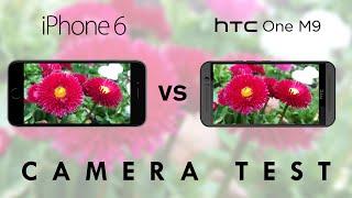 HTC One M9 vs iPhone 6 - Camera Test Comparison | SuperSaf TV