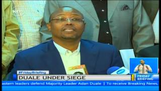 Section of leaders from Northern Kenya defend Adan Duale over call to step aside