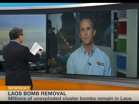 Laos Bomb Removal (BBC World News 7-9-2016)