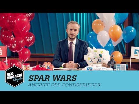 Spar Wars - Angriff der Fondskrieger   NEO MAGAZIN ROYALE mit Jan Böhmermann - ZDFneo