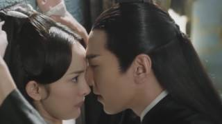 Eternal Love (Ten Miles of Peach Blossoms) - Hot Kiss (Mark Chao and Yang Mi )