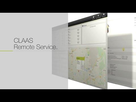 CLAAS Remote Service. / 2018