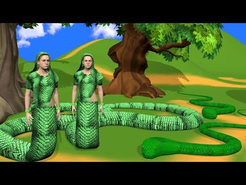 जुड़वा इच्छाधारी नागिन - Hindi Story | Twin wishful serpent Hindi Kahaniya | Story Demand |