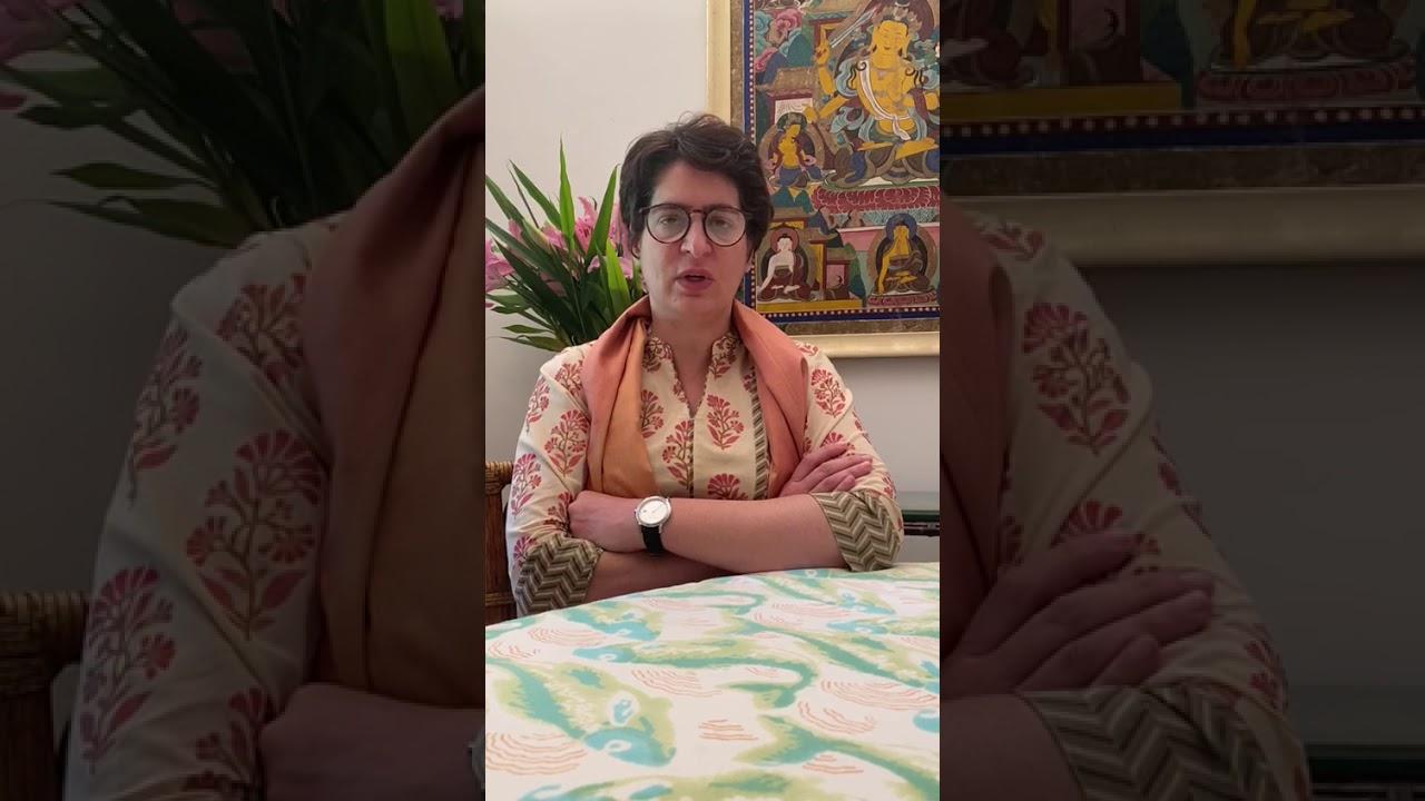 Priyanka Gandhi's reaction to Corona virus | कोरोना वायरस पर  प्रियंका गांधी की प्रतिक्रिया