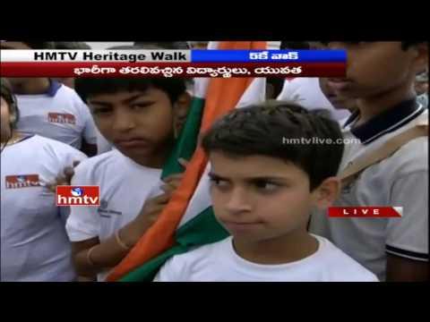Delhi Public School 5K Heritage Walk Grand Success | HMTV and The Hans India | HMTV