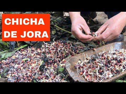 Cómo hacer la chicha de jora wanka - parte 1