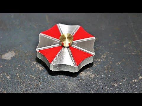 Making an Umbrella Corporation Fidget Spinner for a Friend