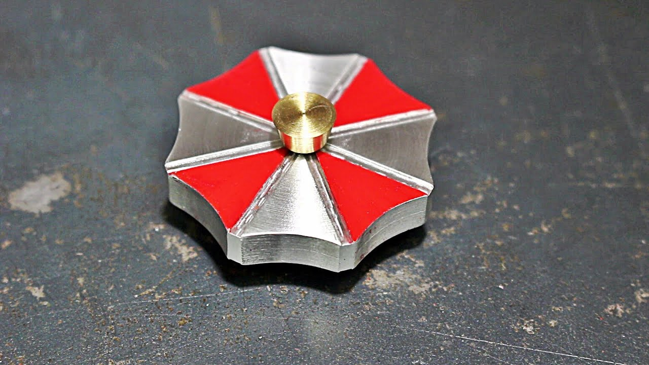 making-an-umbrella-corporation-fidget-spinner-for-a-friend