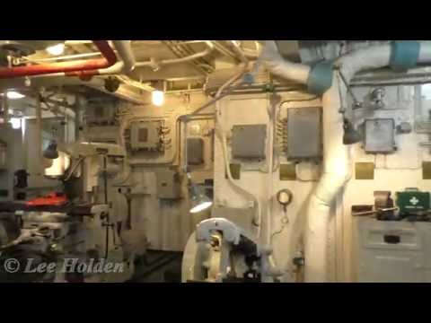 A short walk around HMS Belfast engine and boiler rooms on -1 and -2 decks.