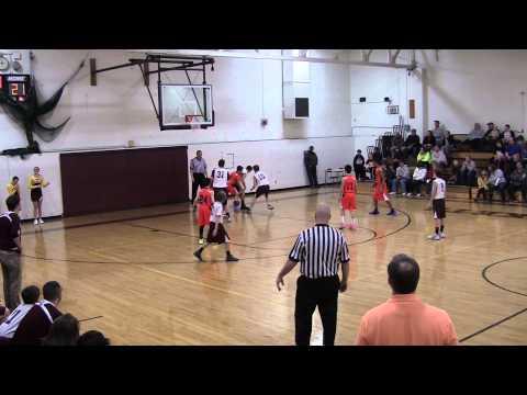 CCCa Boys Basketball vs Berne Union January 10, 2015