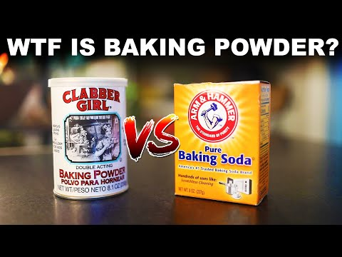 What Is Baking Powder, And How Is It Different From Baking Soda?