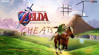 Ocarina of Time 3D Cheat #1- Use Farore