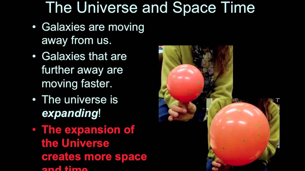 Introductory Astronomy  Balloon Analogy For Expansion