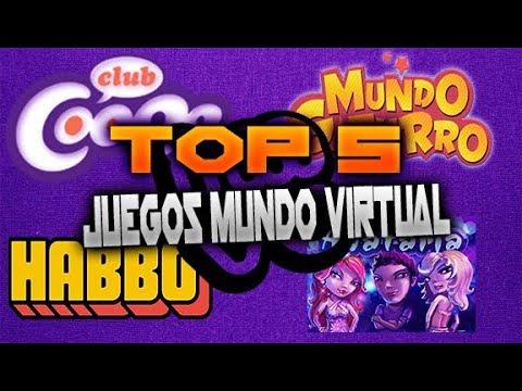 Top 5 Mejores Juegos Mundo Virtual Online Dante405hd 2017 18 Youtube