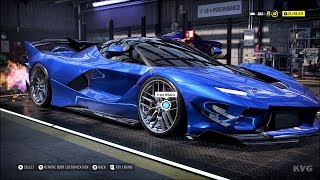 Need for Speed Heat - Ferrari FXX-K Evo 2018 - Customize | Tuning Car (PC HD) [1080p60FPS]