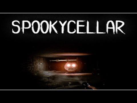 Glowing Big Head Of Doom! Spooky Cellar