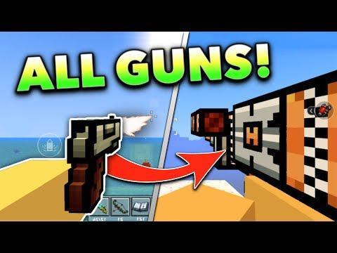 USING ALL WEAPONS!! | Pixel Gun 3D Gun Game (Special)