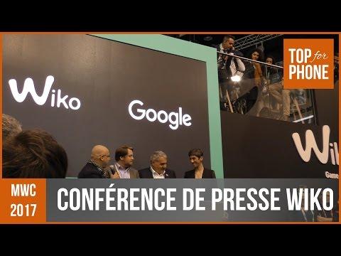 INSIDE : Conférence de Presse Wiko (mwc17)