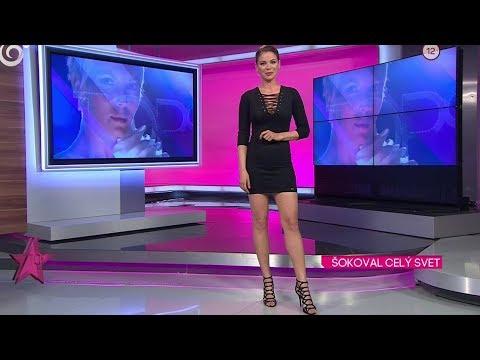 Stanislava Pavolová Tv Presenter from Slovakia