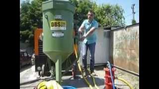 Шеф запуск пескоструйного оборудования ООО ТПК