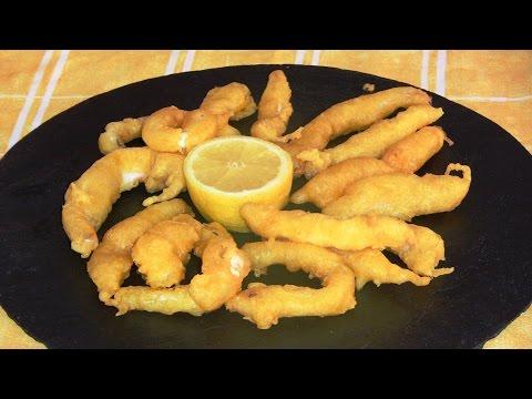 Como hacer pasta Orly para rebozar calamares | Javier Romero