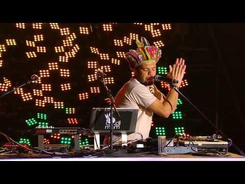 DJ MAM at New Year's Eve at Copacabana Beach 2012