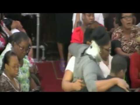 Miracle Healing by Pastor Gregory Toussaint in Boston During Shekinah Tour