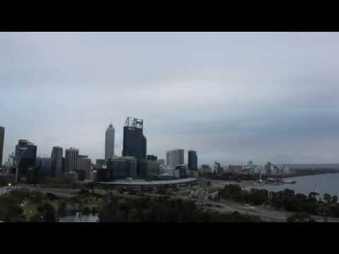 Perth Morning Skyline 2015 09 12