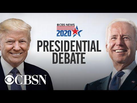 Trump and Biden face off in final 2020 presidential debate