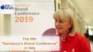 "The fifth ""Sainsbury's Brand Conference"" in Italy"