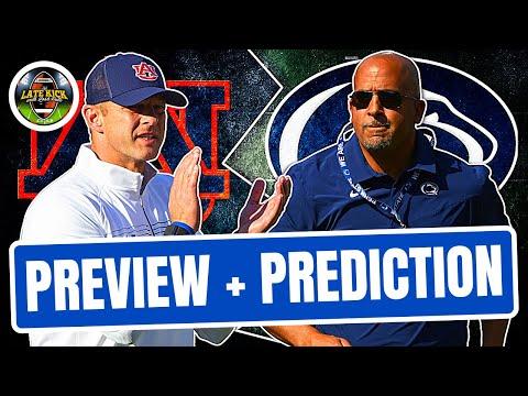 Auburn @ Penn State: Preview + Prediction (Late Kick Cut)