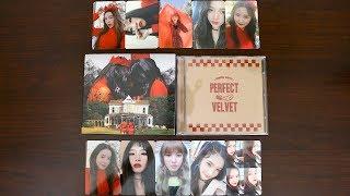 |Unboxing| Red Velvet 레드벨벳 - 2nd Full-Length Album 'Perfect Velvet' w/ All Photocards