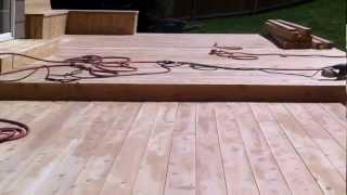 Building a cedar deck Denver deck builder Part 4