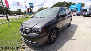 The 2015 Chrysler Town & Country S - For Sale Review @ Marchant Chevy