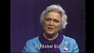 BerksCable Flashback: Barbara Bush 1980