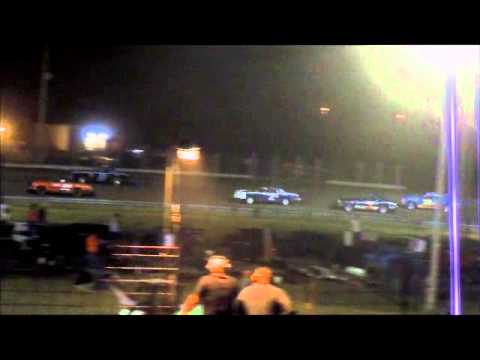 8/22/13 Amain for the Sheyenne River Speedway Hobby stock