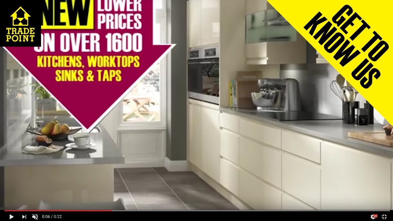 NEW Cooke & Lewis Kitchen Cabinets And Doors At TradePoint