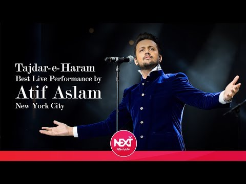 Tajdar-e-Haram - Best Live Performance by Atif Aslam - New York City
