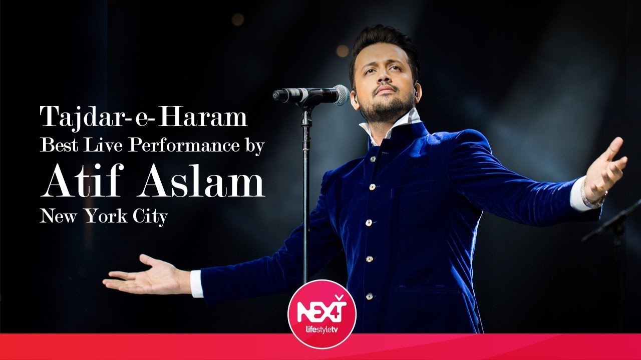 tajdar e haram best live performance by atif aslam new york city youtube. Black Bedroom Furniture Sets. Home Design Ideas