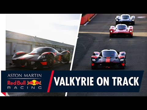 Valkyrie On Track   Max Verstappen and Alex Albon Drive The Hypercar For The First Time