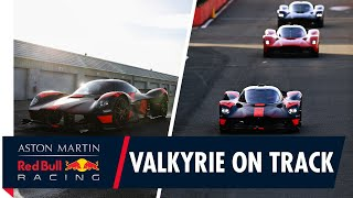 Valkyrie On Track | Max Verstappen and Alex Albon Drive The Hypercar For The First Time
