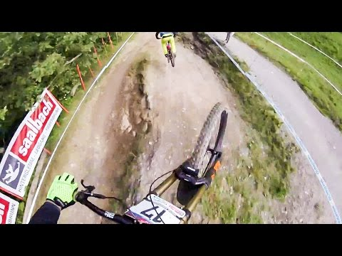 Brendan Fairclough & Troy Brosnan POV - MTB World Cup, Leogang, Austria