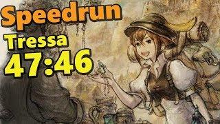 SPEEDRUN OCTOPATH TRAVELER TRESSA STORY