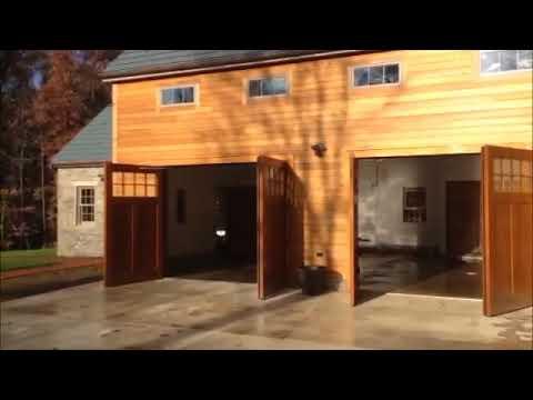 Autoswing Carriage Door Opener By Clingerman Doors