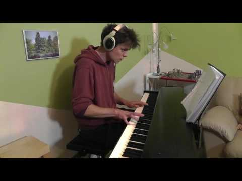 Steve Aoki & Louis Tomlinson - Just Hold On - Piano Cover - Slower Ballad Cover