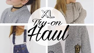 Fashion - XL FASHION TRY-ON HAUL ▹ Zaramiraa